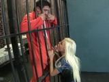 This Hot Milf Cop Meets Horny Prisoner