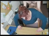 Real Busty Secretary Fucked In Her Office By Bosses Son While At Work