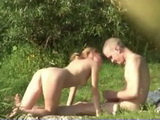 Voyeur Secretly Tapes Blonde Teen Fucked By Her Boyfriend On The Lake Shore