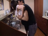 Husband Made A Huge Mistake By Leaving His Wife Shoko Akiyama Alone With His Friend