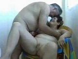 Homemade Granny and Grandpa Handjob Fun