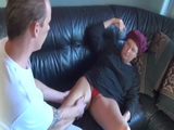 German granny fucked by her massage therapist