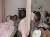 I tried to pervert through the curtain a novice nurse 2