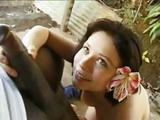 Latin Teen Gina Trashed Hard By Monster BBC