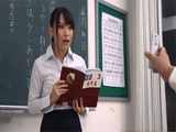 Japanese Teacher Gets Blackmailed By Her Students With Her Private Sextape
