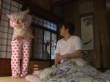 Sister In Law Yuuki Maeda Was Afraid To Sleep Alone