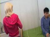 blond teen fucks shy japanese guy
