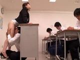 Busty Teacher Anri Okita Orgasms In the Classroom