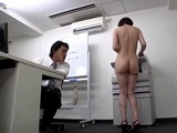 Newbie Secretary Ryo Tsujimoto Gets Gangbanged at the Office