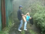 Latin Schoolgirl Fucked By A Shed By Her Classmate