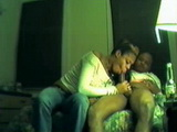 Amateur Ebony Wife Gives Great Blowjob With Cum Swallow