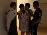 Blackmailed Stepmom Rina Koda Gets Pussy and Anal Fucked By Whole Husbands Family xLx