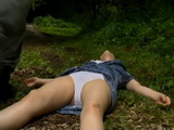 Knocked Out Peasant Woman Gets Brutally Raped In The Forest Outside Her Village