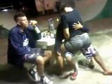 Teen Fucks With Guys In The Skatepark In Public