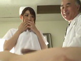 An Undercover Cop In The Hospital Had To Enter Into The Role Of Nurse And Take A Sperm Sample From Patient  Mio Kayama