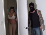 Busty Hot Girl Gets Fucked By Masked Burglar At Her Appartment