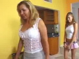 Mom brought Shy Daughter on Porn Audition