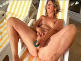 french mature sunbathing