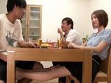 Shameless Japanese Girl Couldnt Care Less Her Boyfriend Was Present