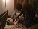 Sleeping Wife Reiko Sawamura Gets Disrespected By Black Guy Right Next To Her Sleeping Hubby