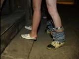Polish Couple Humiliates Themselves In Public For Few Bucks
