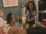 Asian Ggirl Fucks Her Neighbor In Her Room