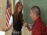 school girl  amber swift