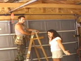 Electrician Guy Fuck Housewife Ass In Garage