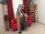 Mature Midget Fucked Hard By Much Younger Dude