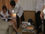 Crazy Schoolboys Took Assaulted Tourist Guide Girl Honda Riko In Her Hotel Room on Excursion