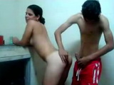 Stunning latin teen likes to get fucked