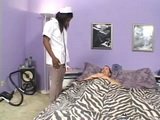 Nasty Ebony Nurse With A Patient