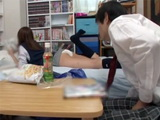 Classmates Flashing Butt Made Teenage Boy Go Crazy And Fuck Her Hard