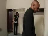 Spying Ebony Boss In Toilet Wasnt Good Idea