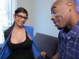 Hot Mia Khalifa Went On A Blind Date But Never Expected BBc