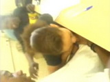 Amateur Classroom Blowjob and Cum Swallow at African College During Class