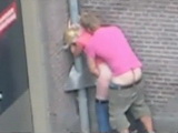 Tourist Fuck Amsterdam Slut On The Street