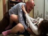 Old Father In Law Fucks His Daughter In Law For the First Time