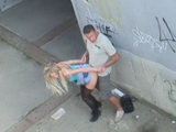 Skinny Czech Girl Fucked All Over The Town In All Kinds Of Public Places