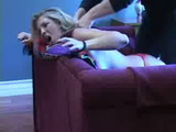 Sexy Blonde Gets  Strangled and Fucked In Her Hotel Room