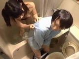 Naughty Bathing Japanese Teen Was Curious To See Stepbrothers Dick