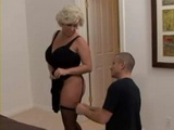 Busty Stepmom Claudia Marie Needed Help With Her Lingerie and Gets Fucked Because Of That