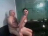 Grandpa Fucking Grandsons Wife In A Spa Centre