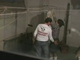 Voyeur Tapes Real Cheating Wife Fucking Neighbor In the Laundry Room