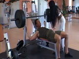 Fitness Instructor Fucks Milf In The Gym