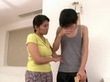 Step Mother Kyoko Takashima Cheer Up Her Sad Son