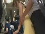 Shy Young Woman Groped On A Train