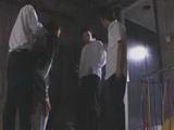 Sweet Japanese Teen Gangbanged In A Basement