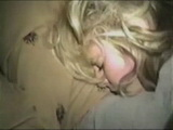 Amateur  Blond College Girl Interracial