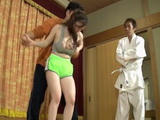 Grand Karate Master Simulate Sexual Assault For Busty Teen And It Quickly Turned Into Reality